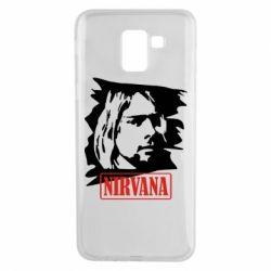 Чехол для Samsung J6 Nirvana Kurt Cobian