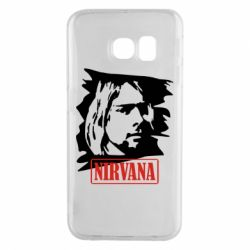 Чехол для Samsung S6 EDGE Nirvana Kurt Cobian
