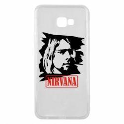 Чехол для Samsung J4 Plus 2018 Nirvana Kurt Cobian