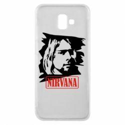 Чехол для Samsung J6 Plus 2018 Nirvana Kurt Cobian