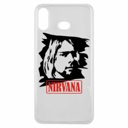 Чехол для Samsung A6s Nirvana Kurt Cobian