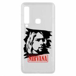 Чехол для Samsung A9 2018 Nirvana Kurt Cobian