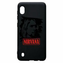 Чехол для Samsung A10 Nirvana Kurt Cobian