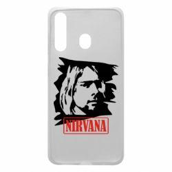 Чехол для Samsung A60 Nirvana Kurt Cobian