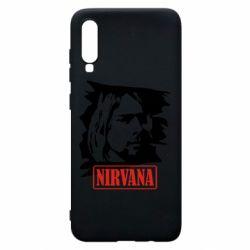Чехол для Samsung A70 Nirvana Kurt Cobian