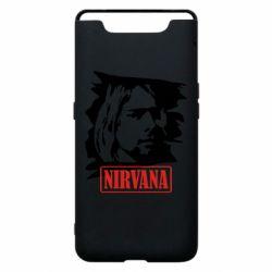 Чехол для Samsung A80 Nirvana Kurt Cobian