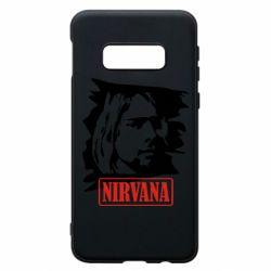 Чехол для Samsung S10e Nirvana Kurt Cobian