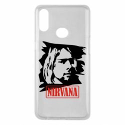 Чехол для Samsung A10s Nirvana Kurt Cobian