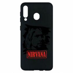 Чехол для Samsung M30 Nirvana Kurt Cobian