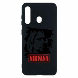Чехол для Samsung M40 Nirvana Kurt Cobian