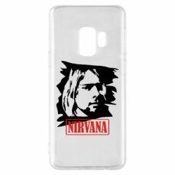 Чехол для Samsung S9 Nirvana Kurt Cobian