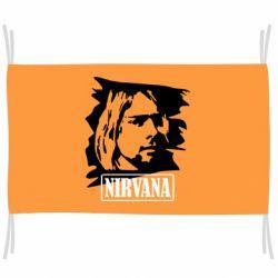 Флаг Nirvana Kurt Cobian