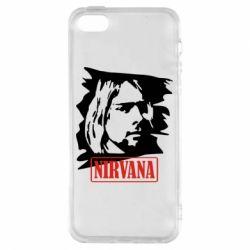 Чехол для iPhone5/5S/SE Nirvana Kurt Cobian