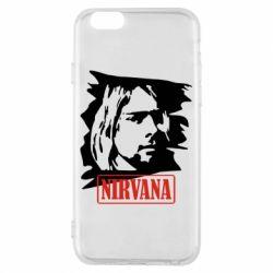 Чехол для iPhone 6 Nirvana Kurt Cobian