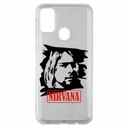 Чехол для Samsung M30s Nirvana Kurt Cobian