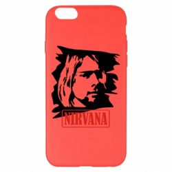 Чехол для iPhone 6 Plus/6S Plus Nirvana Kurt Cobian