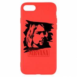 Чехол для iPhone 8 Nirvana Kurt Cobian