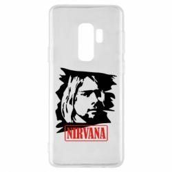 Чехол для Samsung S9+ Nirvana Kurt Cobian
