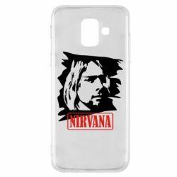 Чехол для Samsung A6 2018 Nirvana Kurt Cobian