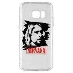 Чехол для Samsung S7 Nirvana Kurt Cobian