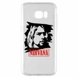 Чехол для Samsung S7 EDGE Nirvana Kurt Cobian