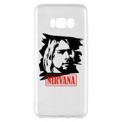 Чехол для Samsung S8 Nirvana Kurt Cobian