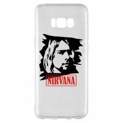 Чехол для Samsung S8+ Nirvana Kurt Cobian