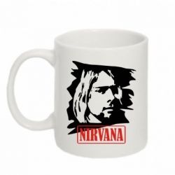 Кружка 320ml Nirvana Kurt Cobian
