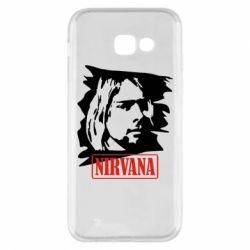 Чехол для Samsung A5 2017 Nirvana Kurt Cobian