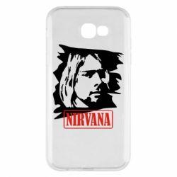 Чехол для Samsung A7 2017 Nirvana Kurt Cobian