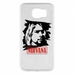Чехол для Samsung S6 Nirvana Kurt Cobian