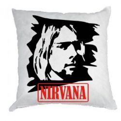 Подушка Nirvana Kurt Cobian - FatLine