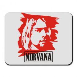 Коврик для мыши Nirvana Kurt Cobian - FatLine