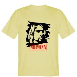 Мужская футболка Nirvana Kurt Cobian - FatLine