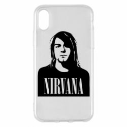 Чохол для iPhone X/Xs Nirvana Курт