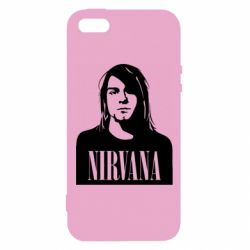 Чохол для iphone 5/5S/SE Nirvana Курт