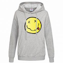 Толстовка жіноча Nirvana Logo 3D