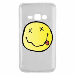 Чохол для Samsung J1 2016 Nirvana Logo 3D
