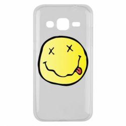 Чохол для Samsung J2 2015 Nirvana Logo 3D