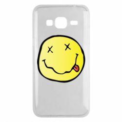 Чохол для Samsung J3 2016 Nirvana Logo 3D