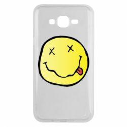 Чохол для Samsung J7 2015 Nirvana Logo 3D