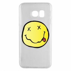 Чохол для Samsung S6 EDGE Nirvana Logo 3D