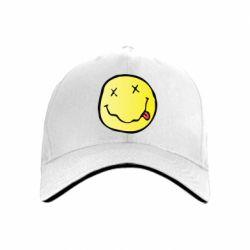 кепка Nirvana Logo 3D