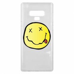 Чохол для Samsung Note 9 Nirvana Logo 3D