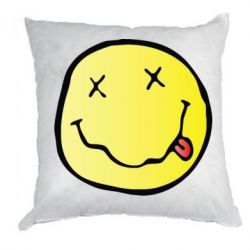 Подушка Nirvana Logo 3D
