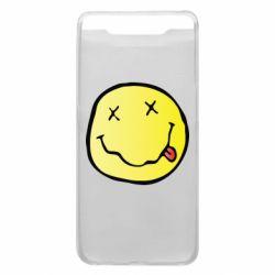 Чохол для Samsung A80 Nirvana Logo 3D