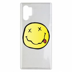 Чохол для Samsung Note 10 Plus Nirvana Logo 3D