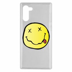 Чохол для Samsung Note 10 Nirvana Logo 3D
