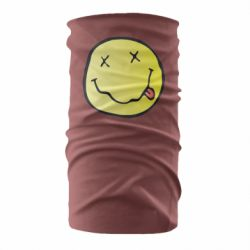 Бандана-труба Nirvana Logo 3D