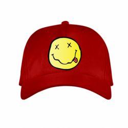 Детская кепка Nirvana Logo 3D - FatLine